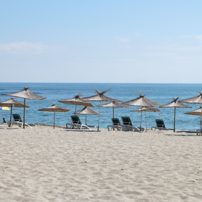 One of the Varna beach