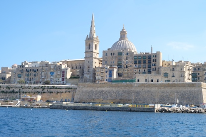 Valletta water front