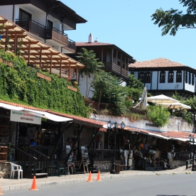 Street view of Nessebar