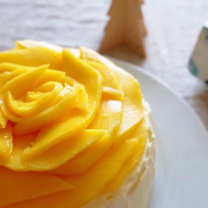 Mango crepe cake